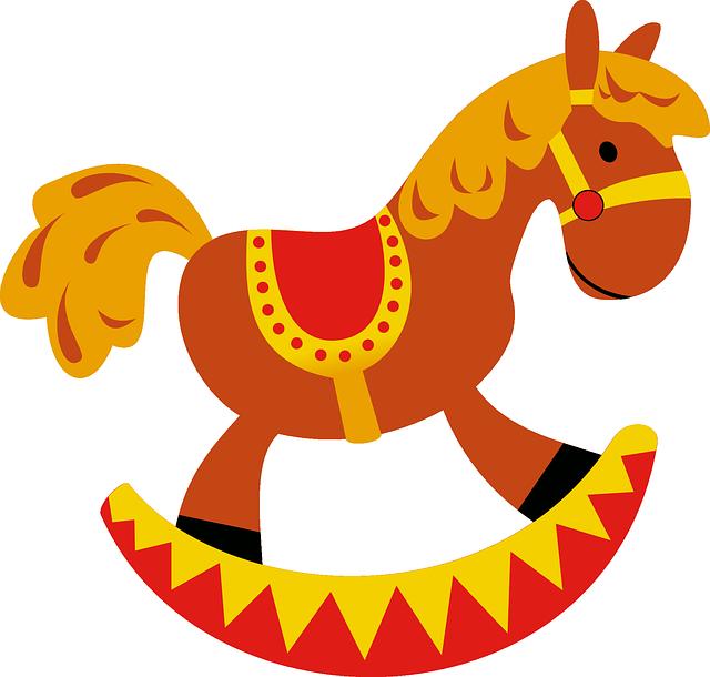 bilanciere, cavallo a dondolo, cavallo