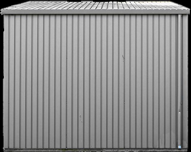 lamiera grecata, greca, tool shed