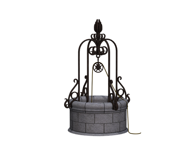 fontana, fontana di acqua, giardino