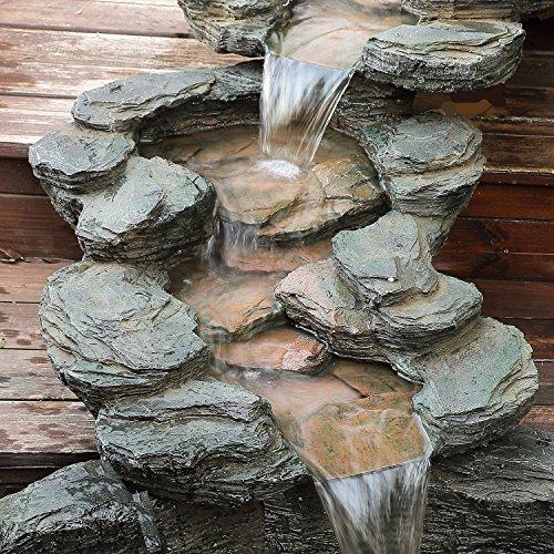 Le migliori 5 fontane da giardino in pietra recensioni e for Fontane a cascata da giardino